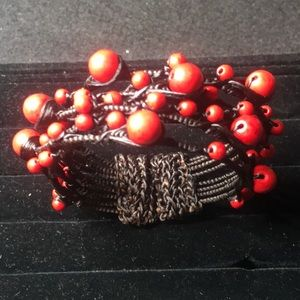 Cuff bracelet. Sz Sm/Med. made in India. NWOT